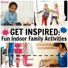 Cold and flu season keep your family inside? Stay healthy and ready-to-play at all times with NyQuil and DayQuil and these great indoor activity ideas!