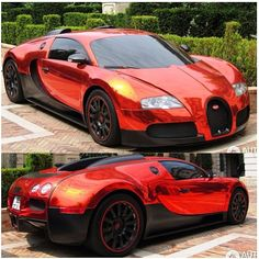 OMG! Anyone else in love with this Black and chrome Veyron?