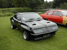 "HPF firenza wearing Dealer Team Vauxhall ""old nail"" racing team body modifications.handsome looking machine Classic Cars British, British Sports Cars, General Motors, Automobile, Ferrari, Car Racer, Ford Capri, Classic Motors, Modified Cars"