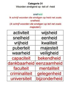 Educational Activities, Activities For Kids, Dutch Language, Kids Learning, Classroom, Tips, Dyslexia, Class Room, Teaching Materials
