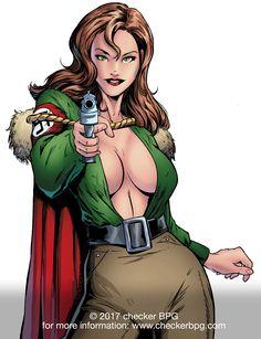 #Valkyrie #TableTopRPG #SuperHero #Superhero2044 #ComicBooks #Gaming #Art #CollectibleCardGame #CheckerBPG