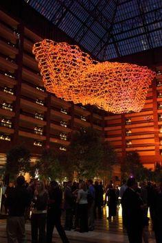 Undulating Kinetic Sculpture by Reuben Margolin
