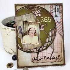 Vintage Muse Designs: 365 Adventure using Tim Holtz, Ranger Idea-ology, Sizzix and Stamper's Anonymous products; May 2015