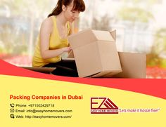 Packing Services, Moving Services