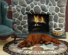 1:12 Irish Red Setter by Paju-tee, via Flickr