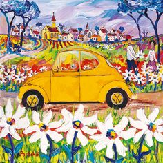Small Prints A range of small sized images, printed in full colour by lithographic process. Painting For Kids, Art For Kids, South African Artists, Surrealism Painting, Naive Art, Whimsical Art, Fabric Painting, Art Pictures, Art Lessons