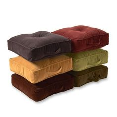 Square Floor Pillows, Large Floor Pillows, Floor Cushions, Floor Pouf, Couch Cushions, Lounge, Eames, Kids Pillows, Throw Pillows