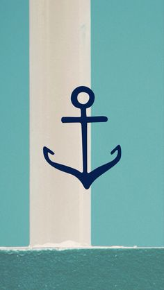 Anchor. Blue. Perfect.