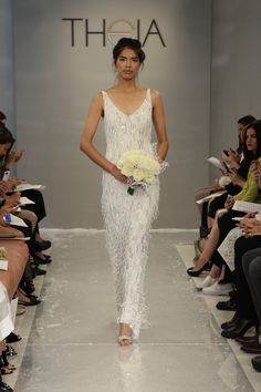 Theia Wedding Dress | Bridal Musings Wedding Blog