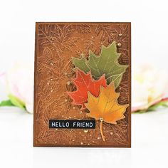 Hello, Friend! | The Things I Do With Paper
