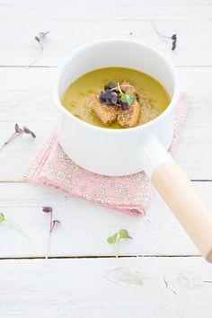 Green Lentil and Apple-Brown Butter Soup + Autumn Garden Dress-Up Games
