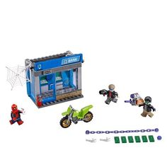 BATMAN THE DARK KNIGHT RISES Bataille à la banque extensible Playset