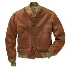 Just found this Leather Bomber Jacket - A-1 Light Leather Bomber Jacket -- Orvis on Orvis.com!