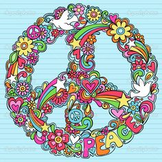 hippie love peace sign emages | depositphotos_8680679-Peace-Sign-Dove-Psychedelic-Doodles