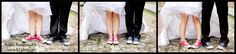 on the day after session at Old Town , Rhodes Isl. , Greece . Groom and bride decide to wear those marvellous Converse All Stars !!!!
