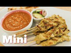 Satay and Peanut Sauce Recipe from Hot Thai Kitchen