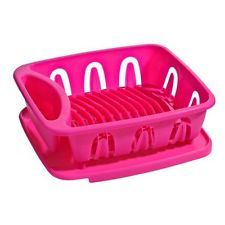 Be a little different....buy a Hot Pink Dish Drainer