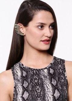 Style Fiesta Spiky Earcuffs purchase from koovs.com Earrings Online, Band, Accessories, Jewelry, Women, Style, Fashion, Swag, Moda