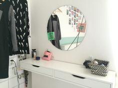 #make up tafel #lade plank Ikea #diy spiegel