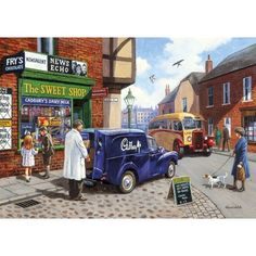 The Sweet Shop Jigsaw Puzzle from Jigsaw Puzzles Direct - Order today and Get Free Delivery
