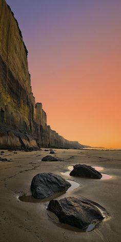 Demons Bluff, Anglesea, Great Ocean Road, Victoria, Australia.
