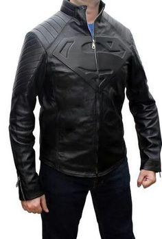#superman #leather #men #fashion #jacket