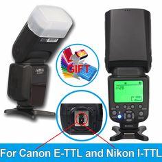 58.89$  Buy now - http://aliyed.worldwells.pw/go.php?t=32770490703 - Hot! INSEESI IN-586EX II Flash E-TTL I-TTL Two Mode Speedlite Speedlight for Canon 7D 6D 5D For Nikon D7200 D3300 D800+gift 58.89$