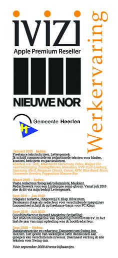 #Werkervaring