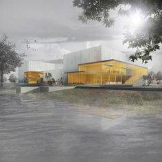 FABG wins architects for new cultural location in Montreal - . - Makaron - FABG wins architects for new cultural location in Montreal - Cultural Architecture, Architecture Visualization, Education Architecture, Architecture Drawings, Residential Architecture, Landscape Architecture, Architecture Design, Museum Architecture, Ancient Architecture