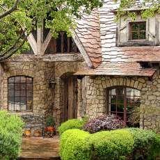 Carmel cottage architecture. Love the shingles