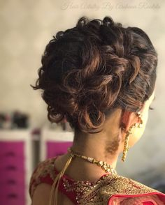 beauty of bridal bun hair artistry by archana rautela