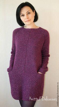 Ideas For Knitting Jacket Pattern Sweets Knitting Patterns Free, Knit Patterns, Baby Knitting, Knitwear Fashion, Knit Fashion, Knit Skirt, Knit Dress, Warm Outfits, Jacket Pattern