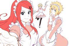 Kushina, Naruto & Minato