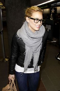 Photos - Celebs Who Wear Glasses: Hilary Duff - 1 - Celebuzz