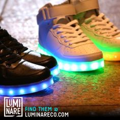 Do you have a pair of #LED #shoes from LUMINARECO.com yet? They're the best. 8-color modes, durable, waterproof and rechargeable. Great for #shuffling #dancing #breakdancing #bboy #EDM #trance