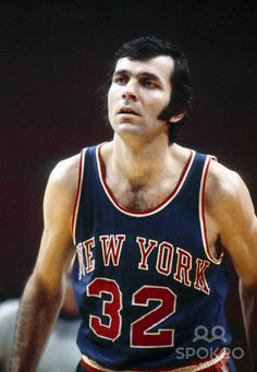 Jerry Lucas, PF/C, San Fransisco Warriors and New York Knicks New York Basketball, Sports Basketball, Basketball Players, Jerry Lucas, New York Knickerbockers, Power Forward, I Love Nyc, Sports Images, Sports Figures
