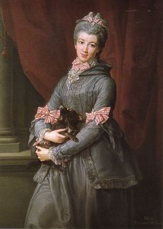 Lady Mary Fox, born Mary FitzClarence; by Pompeo Batoni, c. 1767. She was the illegitimate daughter of William IV, King of the United Kingdom of Great Britain.