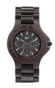 Wewood Wooden Watch Cygnus Black Wood Wrist Timepiece Unique | eBay