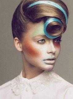 avant garde... I want hair like this!!!