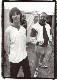 Ian Brown (The Stone Roses) and Peter Hook (New Order) - Spike Island