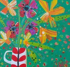 Spring Flowers - Claire West