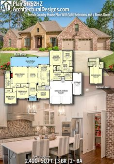 Ready When You Are! Where Do YOU Want To Build? #51752HZ #adhouseplans  #architecturaldesigns #houseplans #architecture #newhome #newconstruction  ...