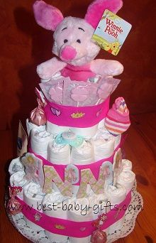 How To Make Diaper Cakes ... your free diaper cake tutorial!