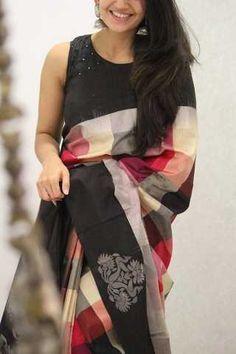 Graceful MultiColored Designer Soft Silk Party Wear Saree