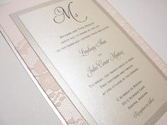 incorporating lace on the base card