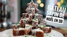 Gateau SAPIN 3D CHOCOLAT ! Première recette de NOEL 2017