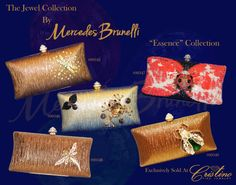 Embrace Your inner Jewel with an evening clutch by Mercedes Brunelli designed especially for Cristino Fine Jewelry. This Collection is unique and elegant and is the perfect addition to every women's wardrobe. Evening Clutches, Every Woman, Sunglasses Case, Fine Jewelry, Jewels, Elegant, Unique, Collection, Design