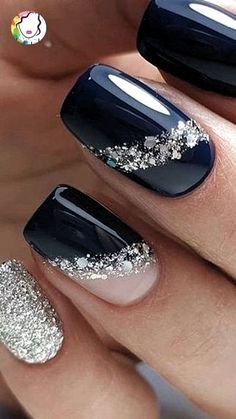 - The most beautiful picture for bright nails, . - - - The most beautiful picture for bright nails . - – The most beautiful picture for light nails, … – – – The most beautiful picture for ligh - Elegant Nail Art, Trendy Nail Art, Stylish Nails, Elegant Nail Designs, Shiny Nails, Blue Nails, Bright Gel Nails, Light Nails, Multicolored Nails