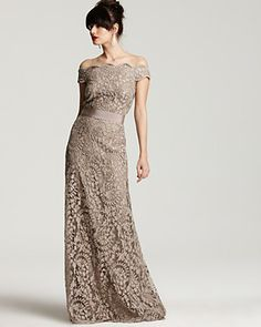 Light Chocolate Off shoulder Sheath Lace Bridesmaid Dress for Party 2013 New Arrival - Bridesmaid Dresses - Wedding Dresses Beautiful Gowns, Beautiful Outfits, Gorgeous Dress, Glamour, Lace Bridesmaid Dresses, Wedding Dresses, Lace Dresses, Dresses 2013, Elegante Y Chic