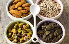 Almonds, Sunflower Seeds, Pepitas